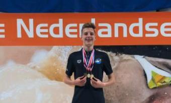 Ivo Kroes dubbel Nederlands kampioen