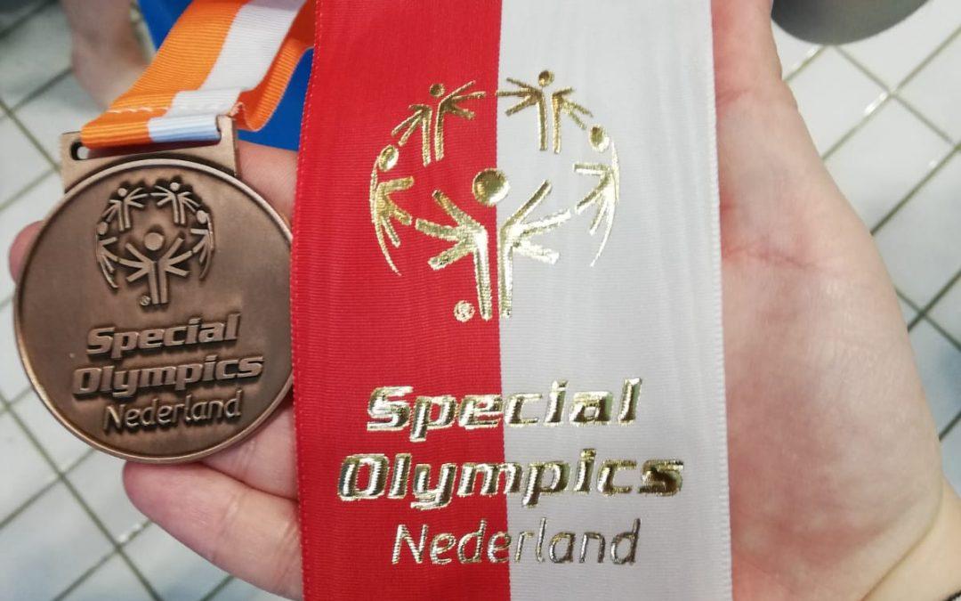 Brons voor Gallyon bij de Special Olympics