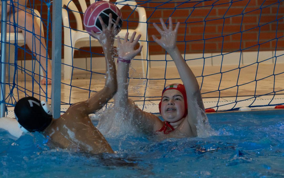 Foto's waterpolo jeugd