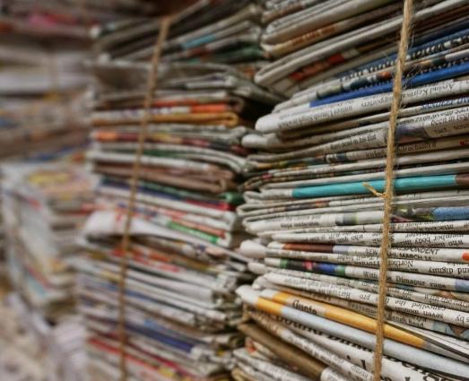 Oud papier inzamelen 2021